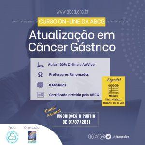 Curso de Atualização em Câncer Gástrico | CBCD